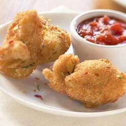 Fried Artichoke Hearts with Marinara Recipe