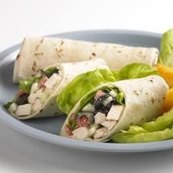 Photo of Greek Chicken Wrap by Mission® Foods