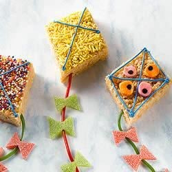 KELLOGG'S* RICE KRISPIES* Kites Recipe
