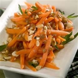 Spectacular Marsala Glazed Carrots with Hazelnuts Recipe