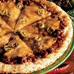 Spicy Barbecue Pizza Recipe
