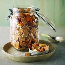 Shreddies Sweet and Spicy Snack Mix Recipe