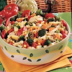 Photo of Rainbow Pasta Salad by Barbara  Carlucci
