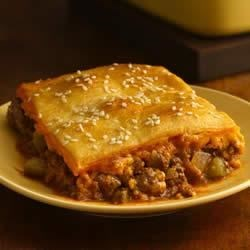 Photo of Crescent-Topped Cheeseburger Casserole by Pillsbury