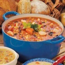Photo of Southwestern Chicken Barley Soup by Kell  Ferrell