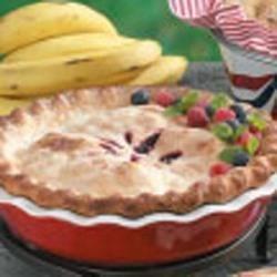 Photo of Blueberry Raspberry Pie by Earlene  Ertelt