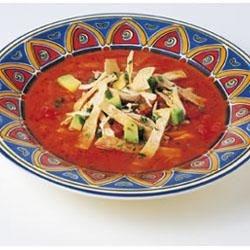 Ancho Tortilla Soup Recipe