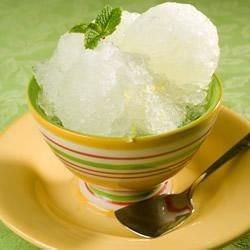 icy lemon sorbet printer friendly