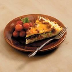 Cheesy Hash Brown Pie