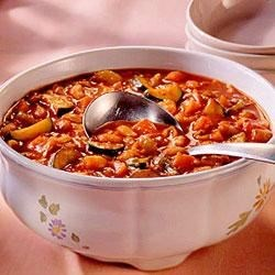 Lower-Sodium Minestrone Recipe
