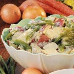 Photo of Sugar Snap Potato Salad by Jim  Okray