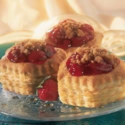 Berry Crumb Tarts Recipe