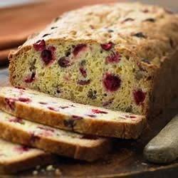Classic Cranberry Nut Bread Recipe