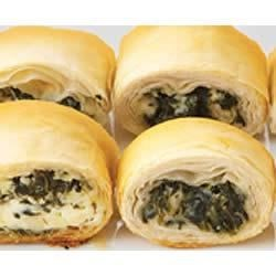 Photo of PHILLY Make-Ahead Spinach Phyllo Roll-Ups by PHILADELPHIA Cream Cheese