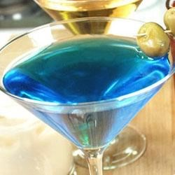Blue Sky Martini Recipe