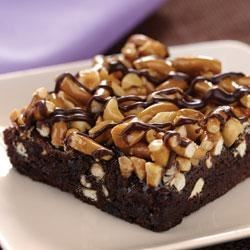 Photo of Fudgy Pretzel Brownies by Smucker's Summer Desserts