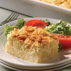BREAKSTONE'S and KNUDSEN Noodle Kugel