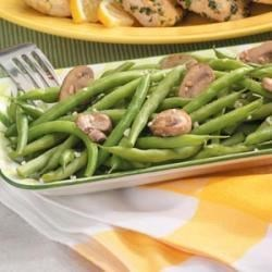 Photo of Garlicky Green Beans with Mushrooms by Sue Haviland