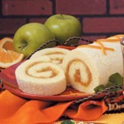 Photo of Orange Sponge Cake Roll by Michelle  Smith