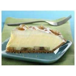 Banana Cream Pie with Caramel Drizzle Recipe