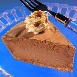 Reese's(R) Frozen Peanut Butter and Milk Chocolate Chip Pecan Pie Recipe