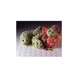 Photo of Candy Corn Popcorn Balls by Kraft Foods