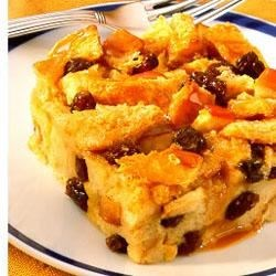 Carnation(R) Raisin Bread Pudding Recipe
