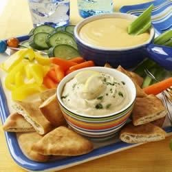 Hurray for Hummus Pita Spread Recipe