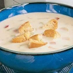 Photo of Savory Cheese Soup by Taste of Home's Fast Family Favorites
