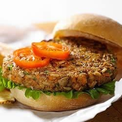 KELLOGG'S* RICE KRISPIES* Veggie Nut Burgers Recipe