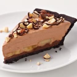 Chocolate-Hazelnut-Banana Pie Recipe
