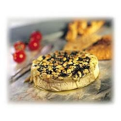 Photo of Baked Brie with Pesto and Pine Nuts by McCormick® Gourmet Collection®