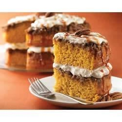 Photo of Praline-Pumpkin Cake by Betty Crocker®