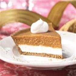 Photo of KEEBLER® READY CRUST® Double Layer Pumpkin Pie by KEEBLER® READY CRUST®