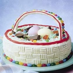 Mounds Coconut Easter Basket Cake Recipe