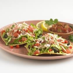 Spicy Crabmeat Tostadas Recipe
