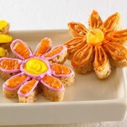 KELLOGG'S* RICE KRISPIES* Flowers Recipe