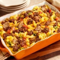 Country Sausage Macaroni and Cheese Recipe