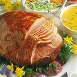 Photo of Baked Ham with Honey-Apricot Glaze by National Pork Board