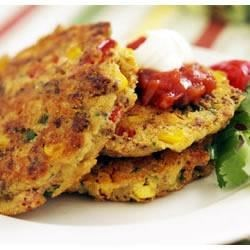 Photo of Jimmy Dean Three Pepper Sausage Corn Cakes by Jimmy Dean