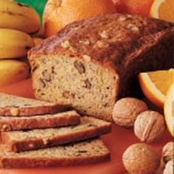 Photo of Orange Banana Nut Bread by Barbara  Roethlisberger