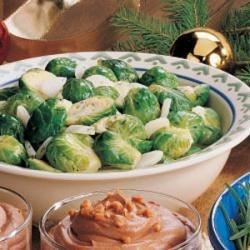 Photo of Dijon-Dill Brussels Sprouts by Audrey  Thibodeau