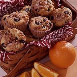 Photo of Blueberry-Orange Muffins by Irene  Parry
