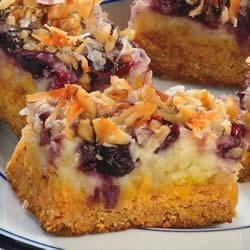 Blueberry Snack Bars Recipe