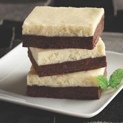 Photo of Chocolate Cheesecake Bars from Crisco Baking Sticks® by Crisco Baking Sticks®