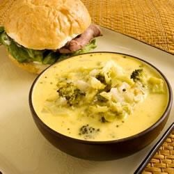 Photo of Broccoli and Cheddar Soup by Pam Anderson