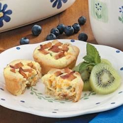 Photo of Bacon Quiche Tarts by Kendra  Schertz