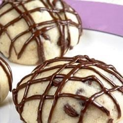 Chocolate Chip Holiday Tea Cakes Recipe