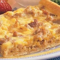 Photo of Brunch Pizza Squares by Taste of Home's Fast Family Favorites