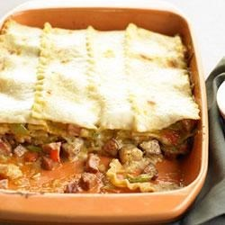 Classico(R) Cajun Chicken Lasagna Recipe